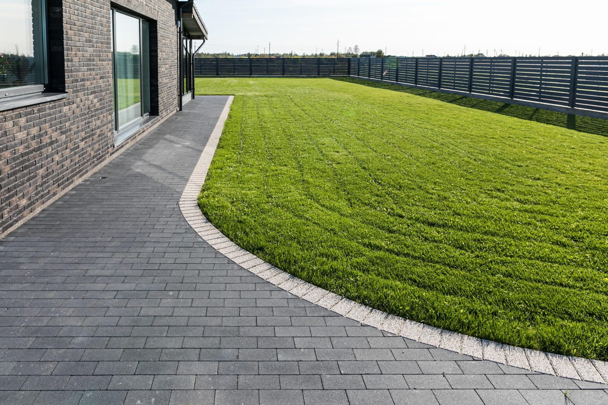 Private yard in Kretinga