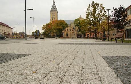 City center square Joniškis