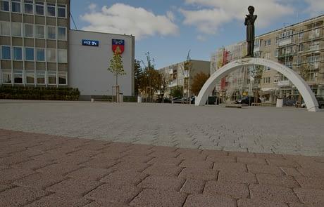 Municipal Square Salcininkai